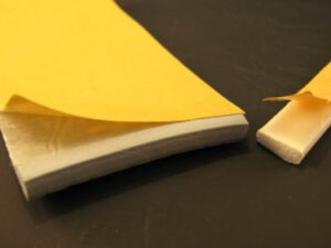 adhesive backed - double sided tape