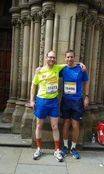 Andy from Silicone runs Great Manchester Run 2015